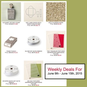 Weekly Deals June 9-15