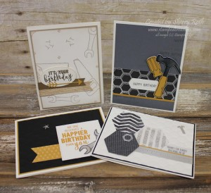 SAB Stamp Cafe Masculine Card Class