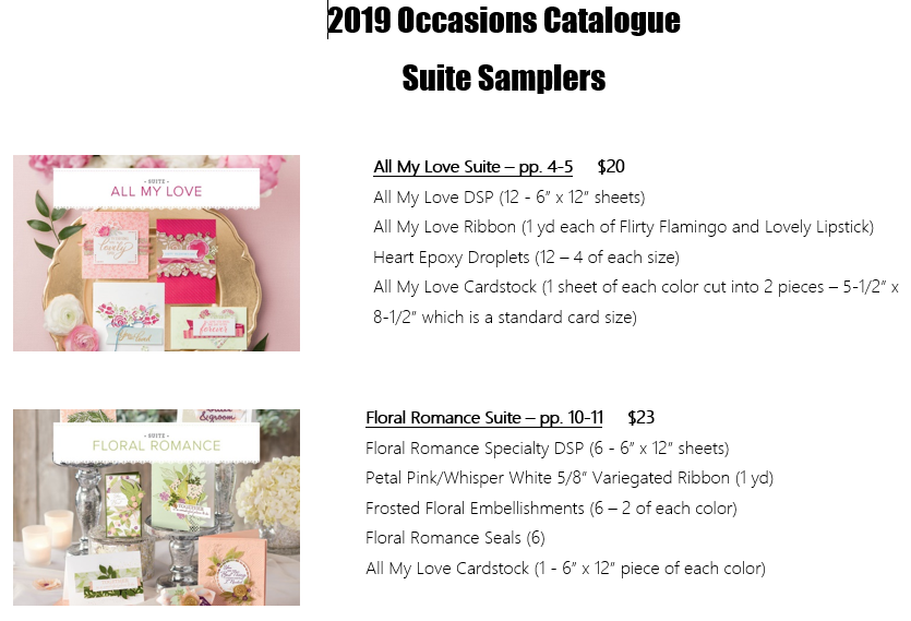 Suite Sampler - Occasions 2019-1