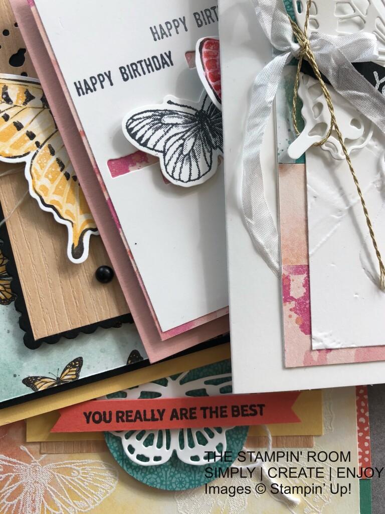 Butterfly Bouquet Class Cards