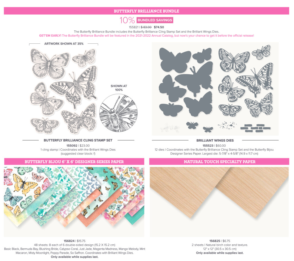 Butterfly Brilliance Products